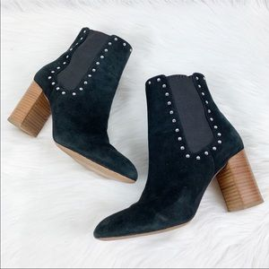 Rebecca Minkoff • Sara Heeled Bootie with Studs